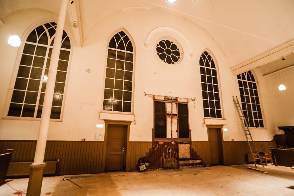 Verbouwing-Herengrachtkerk